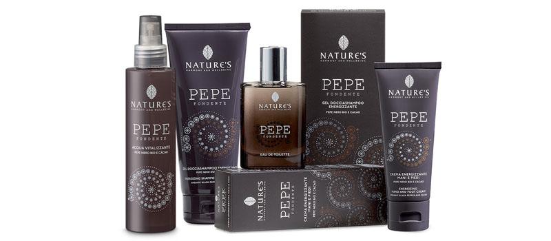 Foto panoramica prodotti Pepe fondente