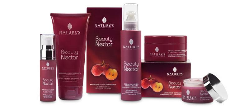 Foto panoramica prodotti Beauty Nectar